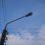 Фонари установили, улицу Школьную в Можаевке осветили