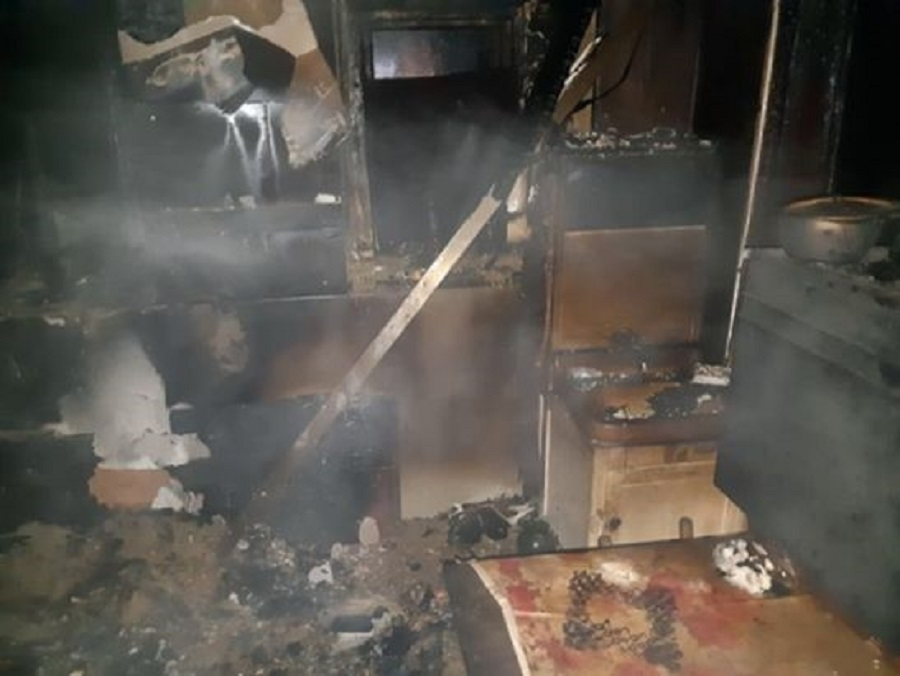погибла в пожаре пенсионерка