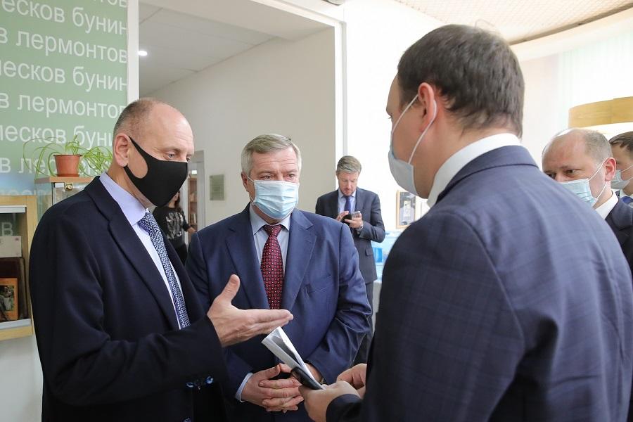 Губернатор Василий Голубев: «Идеи комплексного развития Таганрога важно воплотить точно и качественно»