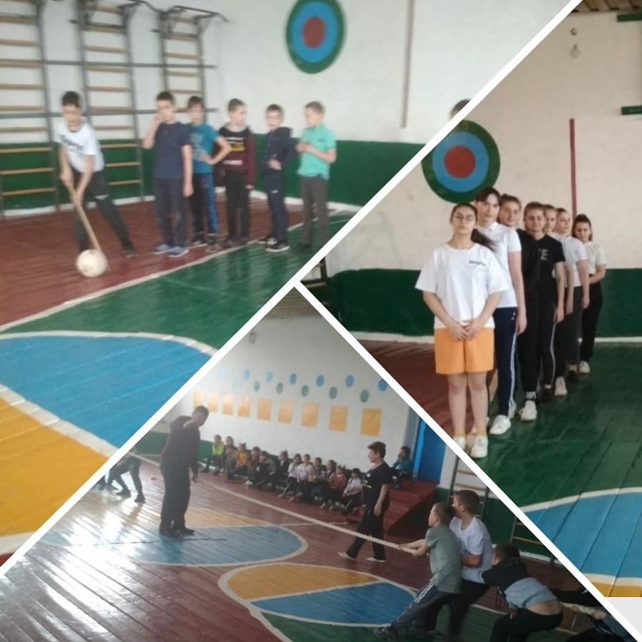 В Зеленовской школе ведется активная работа по физическому воспитанию