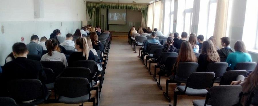В Тарасовской СОШ №1 состоялся показ фильма «Подольские курсанты»