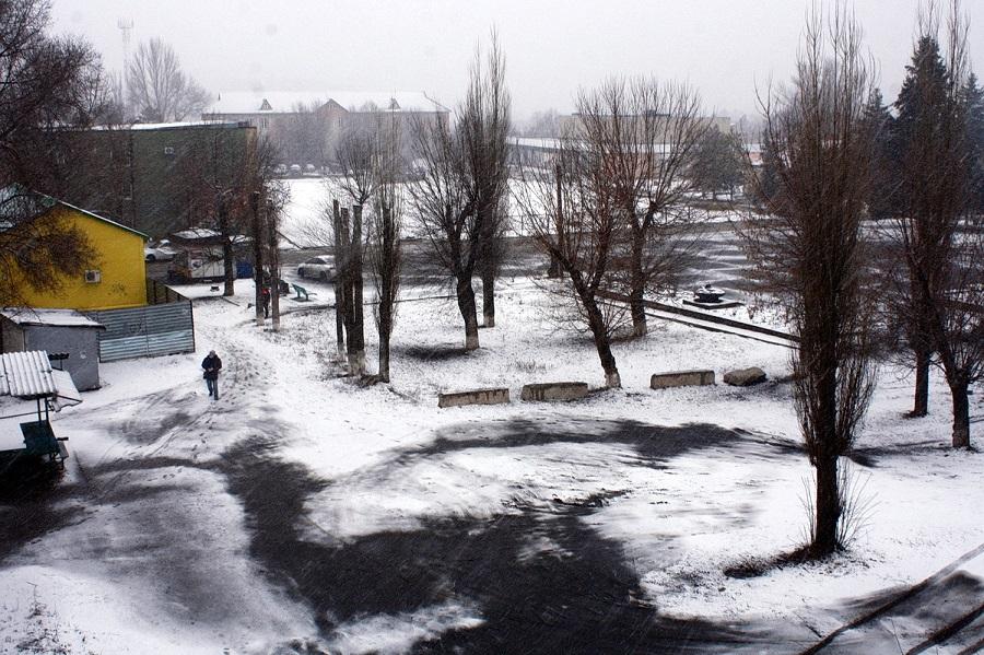 В Тарасовском районе зима