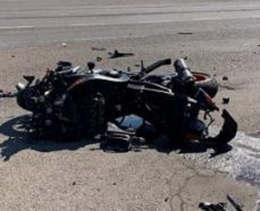 мотоциклист скончался