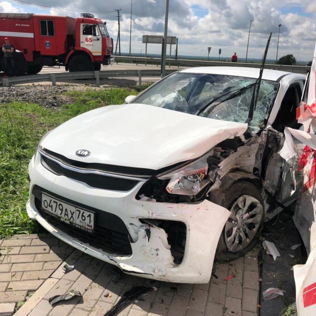 На трассе в ДТП пострадали четверо подростков