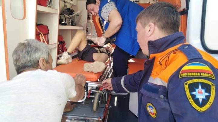 Юному велосипедисту, получившему сложную травму, понадобилась помощь спасателей